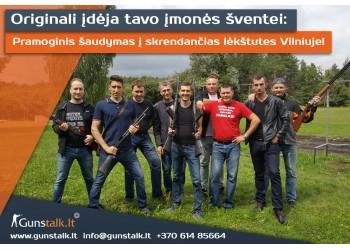 Įmonių vakarėliai Vilniuje kartu su Gunstalk.lt!