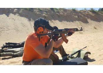 Kulkinio šaudymo treniruotė lauko šaudykloje 2017 06 17