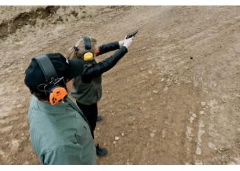 Pažintinė kulkinio šaudymo treniruotė lauko šaudykloje 2017 06 10!