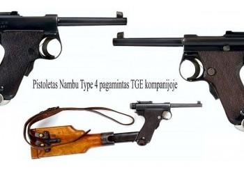 Pistoletas Nambu Type 4/ Type A (Japonija)