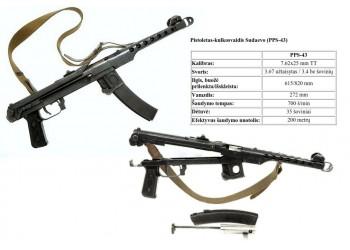Pistoletas-kulkosvaidis Sudaevo (PPS-43)