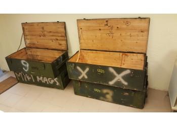 Parduodamos tvirtos medinės dėžės