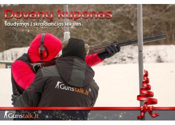 Dovanų kuponas - Šaudymas į skrendančias lėkštes Vilniuje