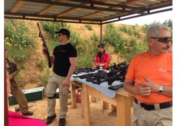 Naujų ginklų pristatymas lauko šaudykloje 2016 09 24
