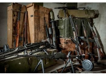 Deaktyvuotų ginklų pristatymas Vilniuje