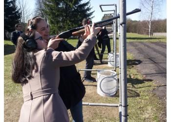 Pramoginis šaudymas į skrendančias lėkštutes Vilniuje 2016 10 29